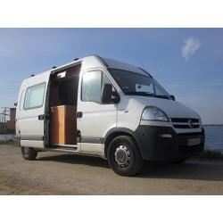 opel movano camper vansicampers camperizaciones. Black Bedroom Furniture Sets. Home Design Ideas