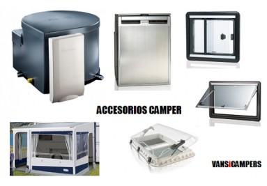 Accesorios campers